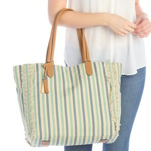 Vince Camuto Woven Tote Bag